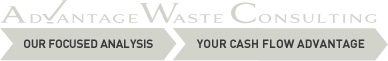 Advantage Waste Consulting - Waste Analysis